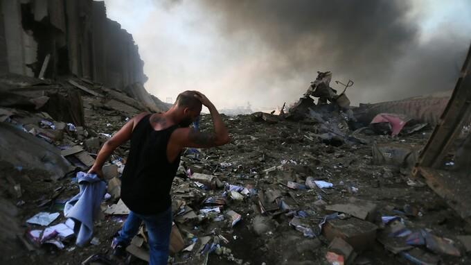 Bejrútem otřásl obří výbuch.