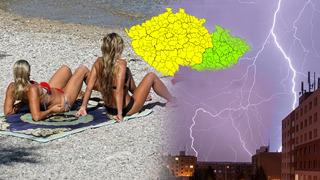 Meteorologové vydali v platnost dvě výstrahy.