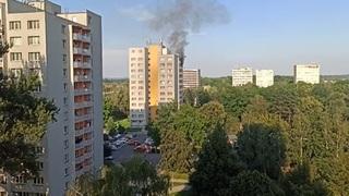 Úmyslně založený požár si vyžádal 11 obětí.