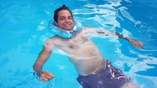 Martin kvůli kvůli nešťastnému skoku do vody ochrnul