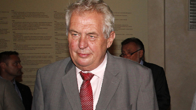 Prezident ČR Miloš Zeman
