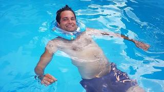 Před 11 lety Martin kvůli nešťastnému skoku do vody ochrnul.