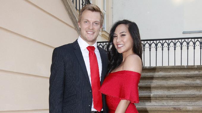 Tomáš Verner s manželkou