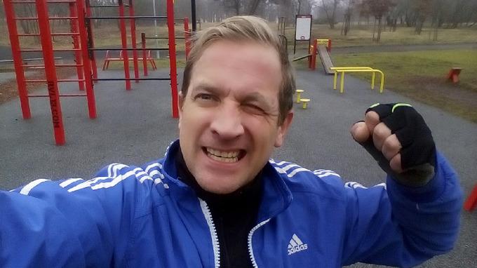 Martin se rád utkal v ringu s hudebníkem Rytmusem.