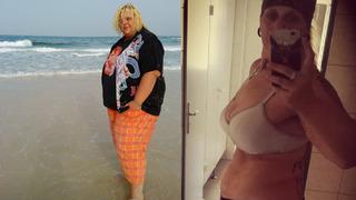 Sanny dokázala zhubnout téměř 100 kilogramů.