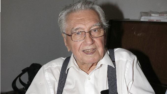 Josef Zíma je před devadesátkou stále ve formě.