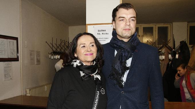 Hana Gregorová se svým partnerem Ondřejem Koptíkem.
