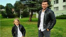 Marek se svým synem Markem