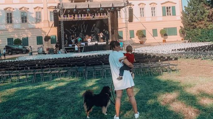 Ewa Farna se svým milovaným synem.