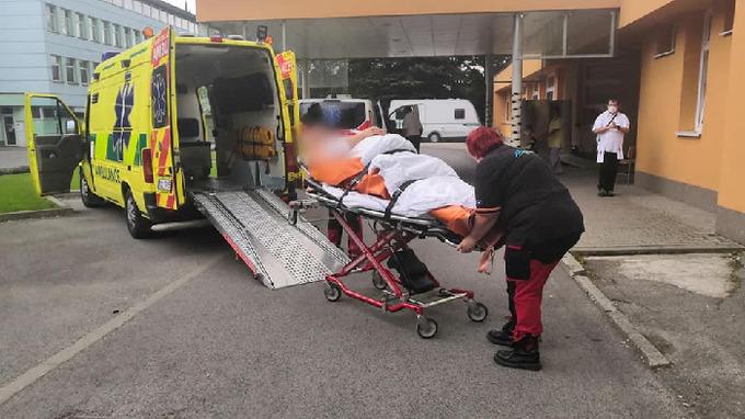 Převoz hyperobézního pacienta
