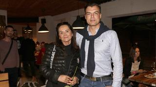 Hana Gregorová se svým partnerem