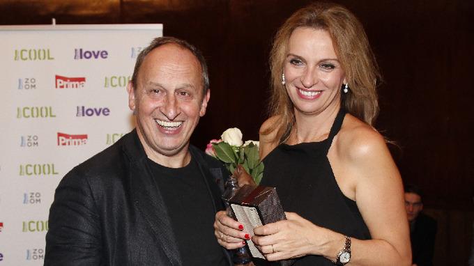 Jan Kraus s manželkou Ivanou