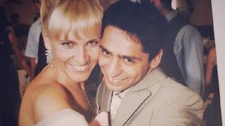Před 15 lety se  zpěvák ženil