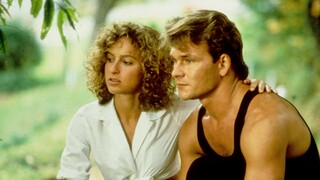 herečka Jennifer Grey a Patrik Swayze