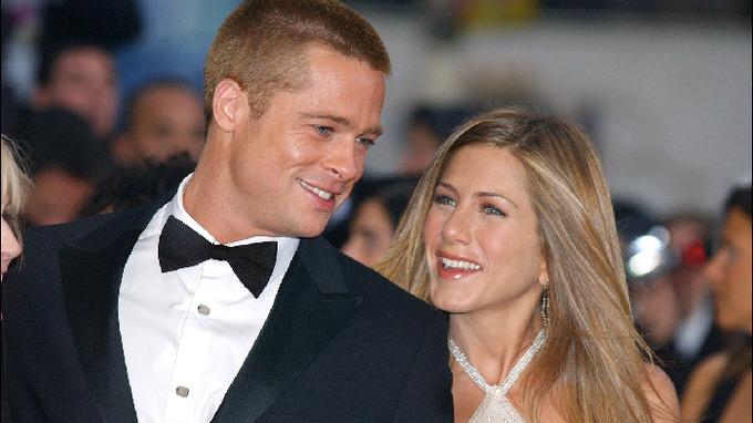 Brad Pitt v době, kdy tvořil dvojici s Jennifer Aniston