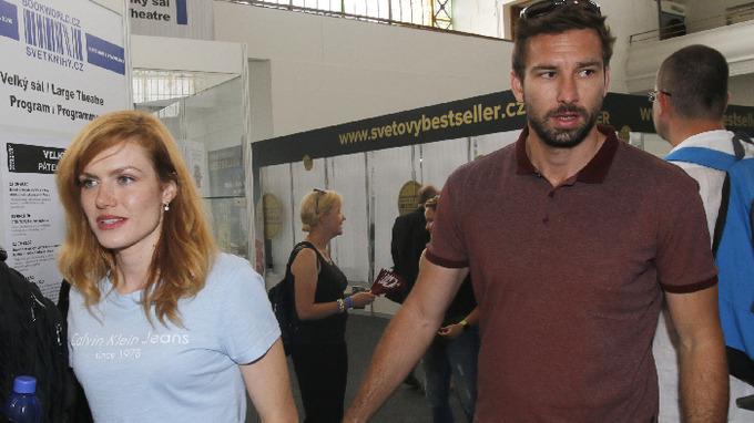 Gabriela Koukalová s manželem Petrem Koukalem
