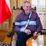 Prezident Zeman se cítí skvěle