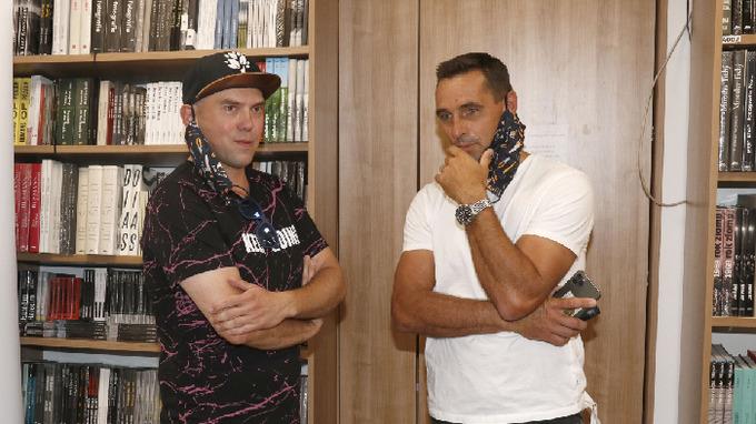 Láďa Hruška a Roman Šebrle