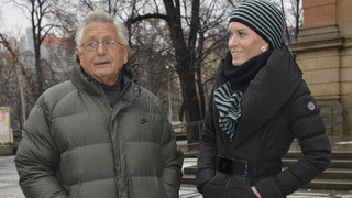 Zesnulý režisér Jiří Menzel s manželkou Olgou