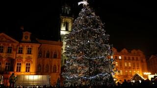 Vánoční tradice – rozsvícení stromu na Staroměstském náměstí