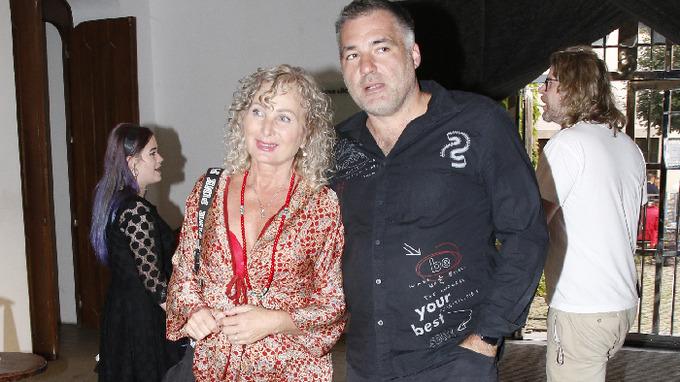 Světlana s partnerem Václavem Pleskou
