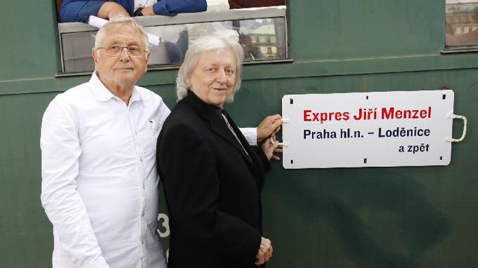 Jiří Menzel a Václav Neckář