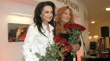 Lucie Bílá a Simona Stašová