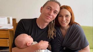 Ivan s manželkou Lydií a synem Bertíkem