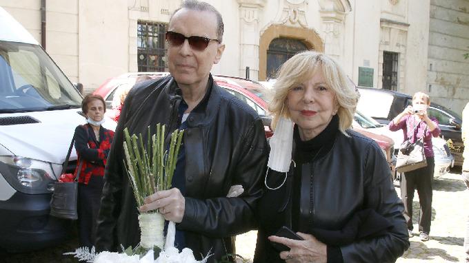 Hana Zagorová s manželem Štefanem Margitou
