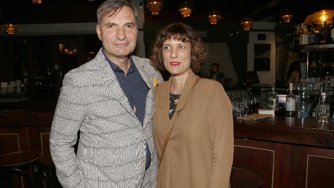 Jiří Macháček s partnerkou Kristinou