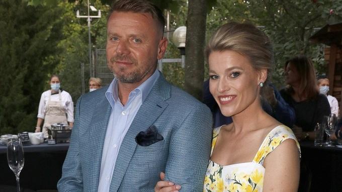 Michaela Gemrotová s manželem