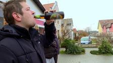 Filip si rád dopřeje pivo i k snídani