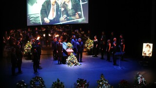 Veřejnost i kolegové se naposledy rozloučili s Martinem Havelkou