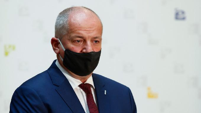 Exministr zdravotnictví Roman Prymula