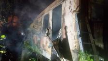 Požár starého železničního vagónu v Brně má čtyři oběti.
