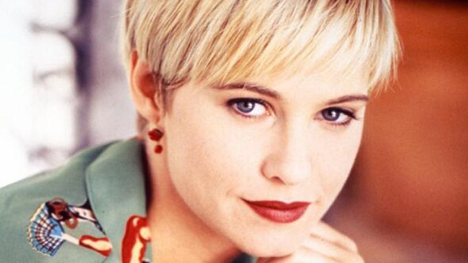 Herečka ve své nejslavnější roli Jane z Melrose Place.