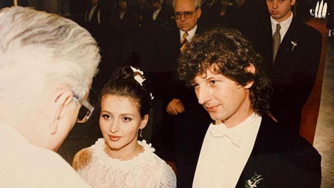 Dana Morávková s manželem Petrem Maláskem