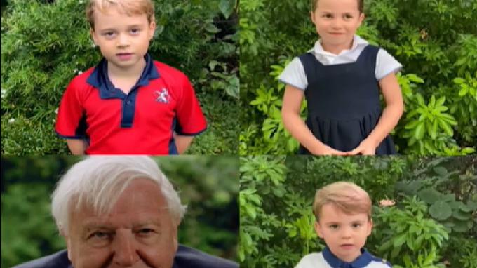 Královské děti předvedly, že jsou pravými potomky Kate a Williama