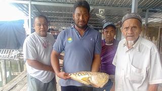 Thajský rybář se dočkal děsivého úlovku