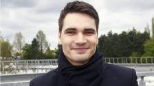 Moderátor Daniel Stach