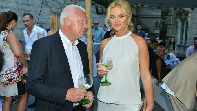Jaroslav Faltýnek s manželkou premiéra Monikou Babišovou