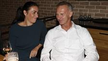 Hokejová legenda Dominik Hašek s partnerkou