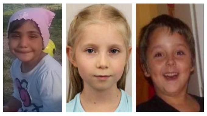 Valerie, Barbora i Nicolas – děti, po kterých policie stále pátrá