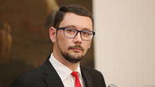 Jiří Ovčáček je mluvčí prezidenta republiky