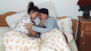 Tereza s maminkou Miladou