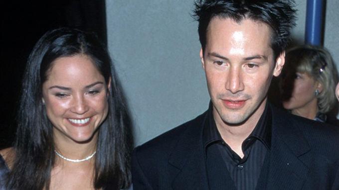 Keanu Reeves a jeho sestra Kim