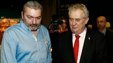 Daniel Hůlka ukončil přátelství s Milošem Zemanem