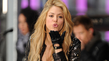 Kolumbijská zpěvačka Shakira
