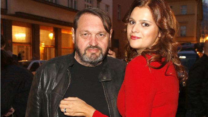 Josef Kokta a manželka Ornella
