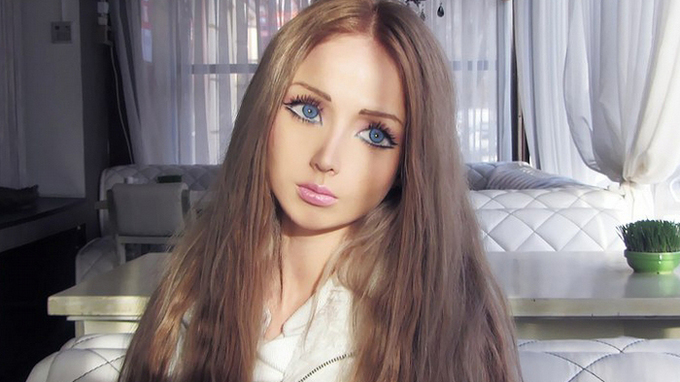 Valeria Lukyanová je lidská Barbie